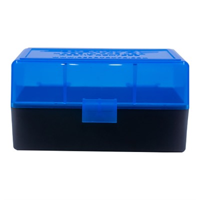 Berrys Manufacturing 50 Round Ammo Boxes - 223 Remington 50 Round Ammo Box, Blue