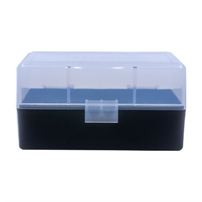 Berrys Manufacturing 50 Round Ammo Boxes - 223 Remington 50 Round Ammo Box, Clear