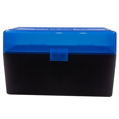Berrys Manufacturing 50 Round Ammo Boxes - 308 Winchester 50 Round Ammo Box, Blue