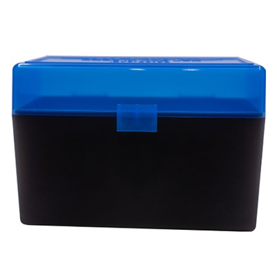 Berrys Manufacturing 50 Round Ammo Boxes - 30-06 Springfield 50 Round Ammo Box, Blue
