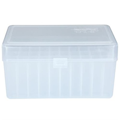 Berrys Manufacturing 50 Round Ammo Boxes - Ultra Magnum 50 Round Ammo Box, Clear