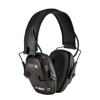Howard Leight Impact Sport Bolt Electronic Earmuffs - Impact Sport Bolt Electronic Earmuffs Black