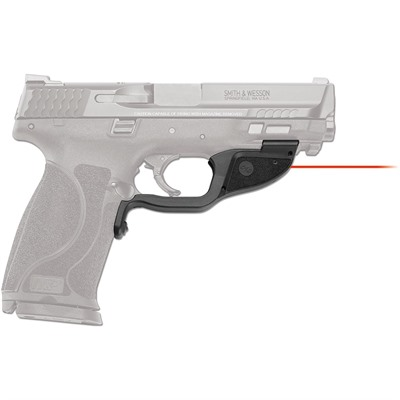 Crimson Trace Corporation S&W M&P M2.0 Full Size & Compact  9/40/45 Laserguard Laser Sight - Smith & Wesson M&P M2.0 Fs & Compact Laserguard Red