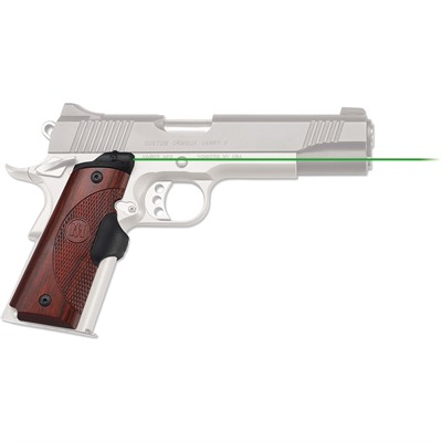 Crimson Trace Corporation 1911 Full Size Rosewood Master Series Lasergrips 1911 Fs Master Series Lasergrips Green Laser Rosewood