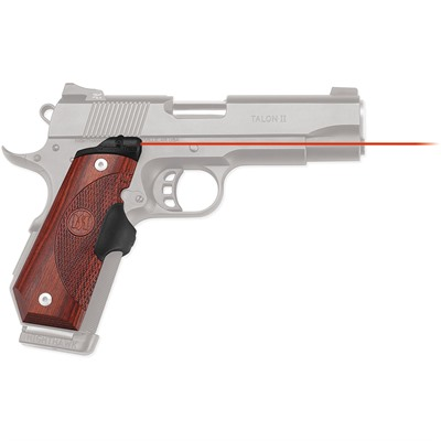 Crimson Trace Corporation 1911 Bobtail Rosewood Master Series Lasergrips - 1911 Bobtail Master Series Lasergrips Red Laser Rosewood