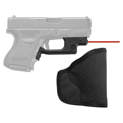 Crimson Trace Corporation Glock Compact & Subcompact Lasergaurd With Pocket Holster - Glock Compact & Subcompact Red Laserguard W/Pocket Holster