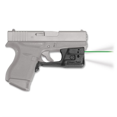 Crimson Trace Corporation Glock 42/43 Laserguard Pro Light And Laser Glock 42, 43 Laserguard Pro Green