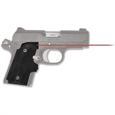 Crimson Trace Corporation Kimber Micro 9mm Lasergrips Red USA & Canada