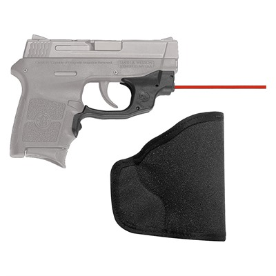 Crimson Trace Corporation Smith & Wesson M&P Bodyguard .380 Laserguard With Pocket Holster S&W M&P Bodyguard .380 Laserguard Red W/Pocket Holster