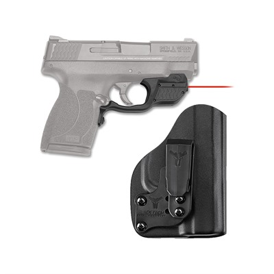 Crimson Trace Corporation Smith & Wesson M&P 45 Shield Laserguard With Iwb Holster Smith & Wesson M&P Shield 45 Laserguard Red W/Iwb Holster