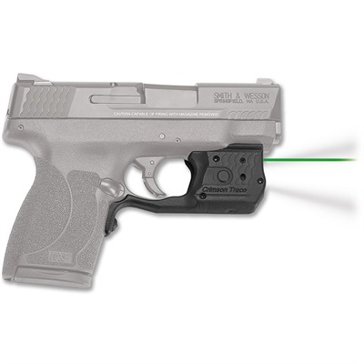 Crimson Trace Corporation Smith & Wesson M&P Shield 45 Laserguard Pro Light & Laser - Smith & Wesson M&P Shield 45 Laserguard Pro Green