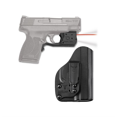 Crimson Trace Corporation S&W M&P Shield 45 Laserguard Pro Light & Laser With Iwb Holster - S&W M&P Shield 45 Laserguard Pro Red W/Iwb Holster