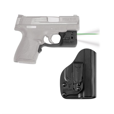 Crimson Trace Corporation S&W Shield 9/40 Laserguard Pro With Blade-Tech Iwb Holster - S&W M&P Shield Laserguard Pro Green With Iwb Holster