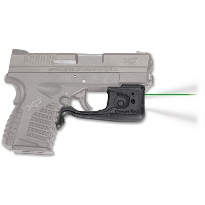 Crimson Trace Corporation Springfield Xd-S Laserguard Pro Light And Laser - Springfield Xds Laserguard Pro Green
