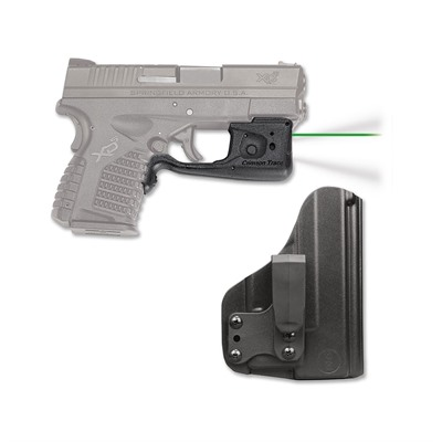 Crimson Trace Corporation Springfield Xd S Laserguard Pro With Blade Tech Iwb Holster Springfield Xds Laserguard Pro Green With Iwb Holster