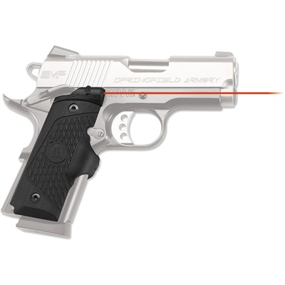 Crimson Trace Corporation Springfield Emp Master Series Lasergrips - Springfield Emp Master Series Lasergrips Red