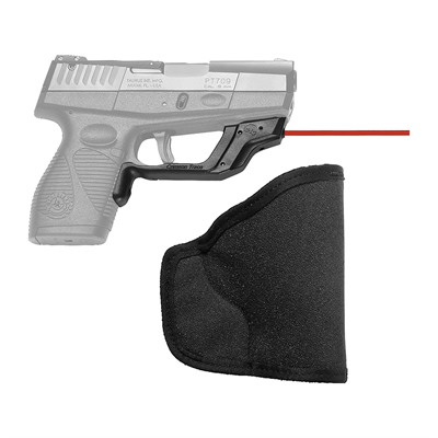 Crimson Trace Corporation Taurus 709, 740 Slim Laserguard With Pocket Holster - Taurus 709, 740 Slim Laserguard Red With Pocket Holster