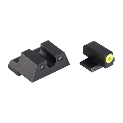 Night Fision Perfect Dot Tritium Night Sights For Canik - Canik Tp9sfx/Tp9sfl Yellow Front & Black U Notch Rear