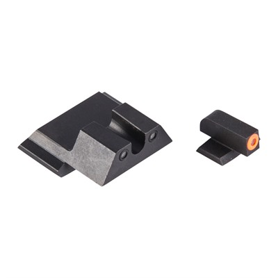 Night Fision Perfect Dot Tritium Night Sights For Smith & Wesson - S&W M&P M2.0, Sd9/40 Ve Orange Front & Blk U Notch Rear