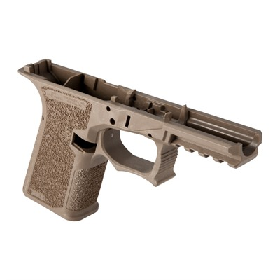 Polymer80 Pfc9 Serialized Frame For Glock 19/23 - Pfc9 Serialized Frame For G19/23 Std Texture Fde