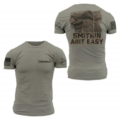 Grunt Style 1911 Smithing Ain'T Easy Shirts - Gunsmith 1911 Shirt Large