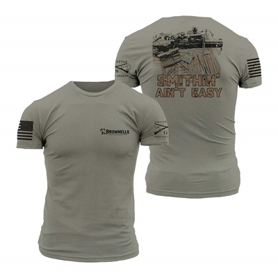 Grunt Style Bolt Gun Smithing Ain'T Easy Shirts - Gunsmith Bolt Gun Shirt Large