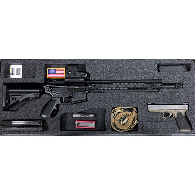 Gunformz Ar-15 Pelican 1700 Gun Case Foam Inserts - Ar-15 Pelican 1700 V2 Top Layer Foam Insert