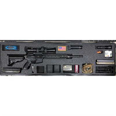 Gunformz Ar-15 Pelican 1750 Gun Case Foam Inserts - Ar-15 Pelican 1750 V1 Top Layer Foam Insert