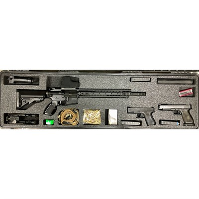 Gunformz Ar-15 Pelican 1750 Gun Case Foam Inserts - Ar-15 Pelican 1750 V3 Top Layer Foam Insert