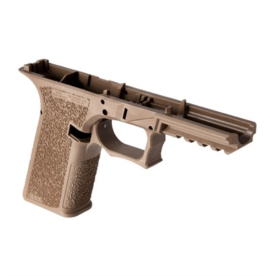 Polymer80 Pfs9 Serialized Frame For Glock17/22 - Pfs9 Serialized Frame For G17/22 Std Texture Fde
