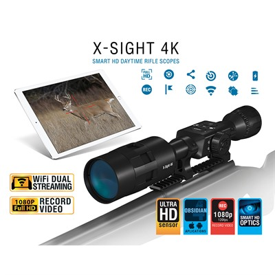 Atn X-Sight 4k Pro 3-14x Buck Hunter Smart Day Time Scope - 3-14x Buck Hunter Day Time Scope