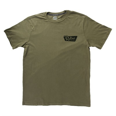 Brownells Fine Cotton Vintage Logo T-Shirts - Fine Cotton Vintage Logo T-Shirt 2x-Large Green