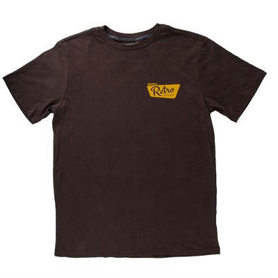 Brownells Fine Cotton Vintage Logo T-Shirts - Fine Cotton Vintage Logo T-Shirt X-Large Brown