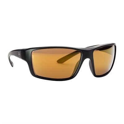 Magpul Summit Sunglasses - Sumit Matte Black Frame Bronze Lens W/ Gold Lens Mirror