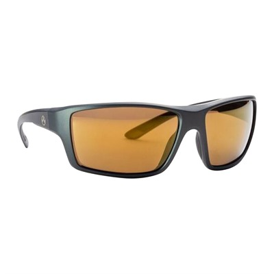 Magpul Summit Sunglasses - Summit Matte Gray Frame Bronze Lens W/ Gold Lens Mirror