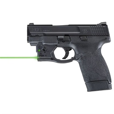 Viridian Reactor 5 Gen 2 Laser Sight Featuring Ecr With Ambi Iwb Holster - S&W M&P Shield 45 Reactor 5 Gen 2 Green Laser W/Holster