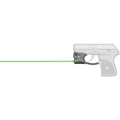 Viridian Reactor 5 Gen 2 Laser Sight Featuring Ecr With Ambi Iwb Holster - Ruger Lcp Reactor 5 Gen 2 Green Laser W/Holster