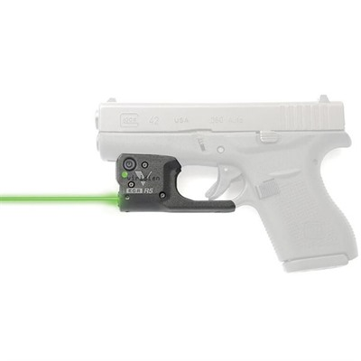 Viridian Reactor 5 Gen 2 Laser Sight Featuring Ecr With Ambi Iwb Holster - Glock 42 Reactor 5 Gen 2 Green Laser W/Holster