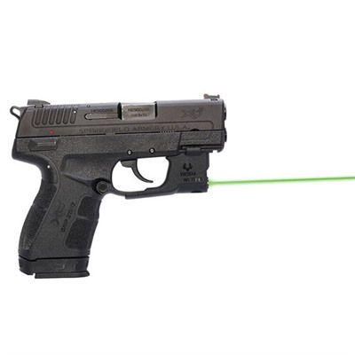 Viridian Reactor 5 Gen 2 Laser Sight Featuring Ecr With Ambi Iwb Holster - Springfield Xde Reactor 5 Gen 2 Green Laser W/Holster