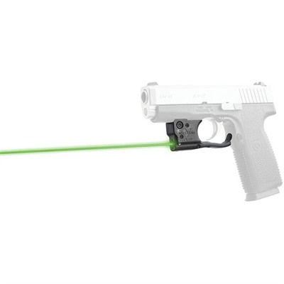 Viridian Reactor 5 Gen 2 Laser Sight Featuring Ecr With Ambi Iwb Holster - Kahr Pm & Cw 45 Reactor 5 Gen 2 Green Laser W/Holster