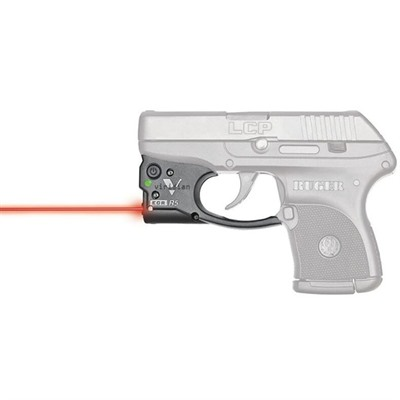 Viridian Reactor 5 Gen 2 Laser Sight Featuring Ecr With Ambi Iwb Holster - Ruger Lcp Reactor 5 Gen 2 Red Laser W/Holster