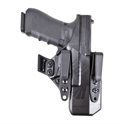 Raven Concealment Systems Eidolon Holsters Full Kit For Glock - G17 Eidolon Full Kit Holster Left Hand 1.75 Overhook Black