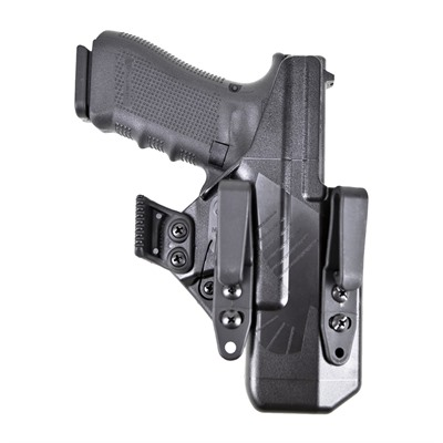 Raven Concealment Systems Eidolon Holsters Full Kit For Glock - G19 Eidolon Full Kit Holster Left Hand 1.5 Overhooks Black