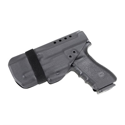 Raven Concealment Systems Morrigan Iwb Holsters - Morrigan Glock 17, 22 Surefire Xc1 Ambi Soft Loops Black