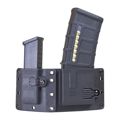 Raven Concealment Systems Copia Combo Rifle & Pistol Magazine Carriers - Copia Pistol-Rifle Black