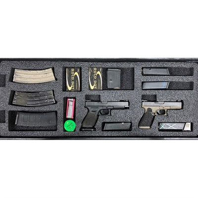 Gunformz Ar-15 Pelican Storm 3100 Gun Case Foam Inserts - Ar-15 Pelican Storm 3100 Bottom Layer Foam V3