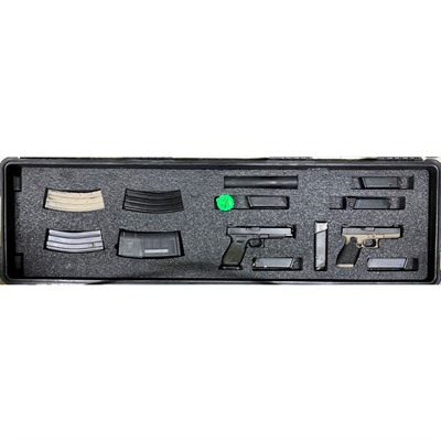 Gunformz Ar-15 Pelican Storm 3300 Gun Case Foam Inserts - Ar-15 Pelican Storm 3300 Bottom Layer Foam V3