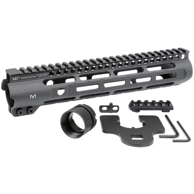 Midwest Industries Ar-15 Slim Line Handguards M-Lok - Slim Line Handguards 10.5