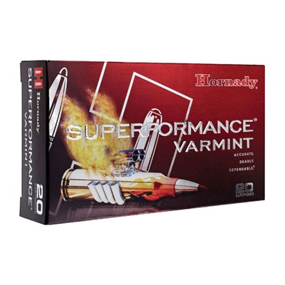 Hornady Superformance Varmint 22-250 Remington Ntx Ammo - 22-250 Remington 35gr Ntx 20/Box