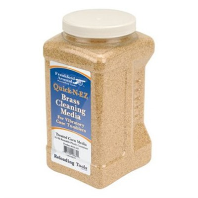 Frankford Arsenal Treated Corn Cob Media - Treated Corn Cob Media In Reusable Pastic Container 4.5lbs
